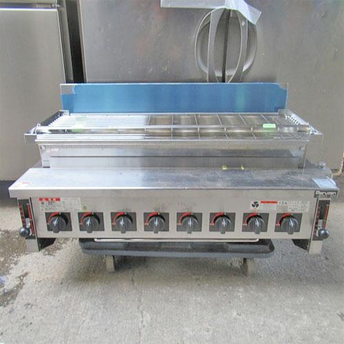 【中古】下火式焼物器 マルゼン MGKS304 幅1000×奥行560×高さ480 都市ガス 【業務用】:厨房器具と店舗用品のTENPOS