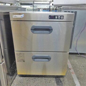 【中古】小型冷凍庫 福島工業(フクシマ) VMC-055FM2 幅555×奥行600×高さ740 【送料別途見積】【業務用】