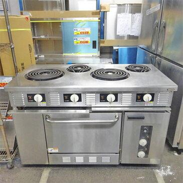 【中古】電気オーブンレンジ タニコー TER-S-120 幅1200×奥行600×高さ800 三相200V 【送料別途見積】【業務用】【厨房機器】