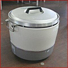 【送料無料】【中古】【業務用】 ガス炊飯器 RR-30S1 幅460×奥行430×高さ400 LPG(プロパンガス)