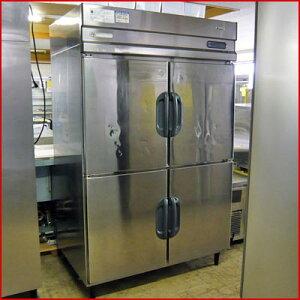 【送料無料】【中古】【業務用】 縦型冷凍冷蔵庫4ドア EED-42PE7 幅1210×奥行795×高さ1920 単...