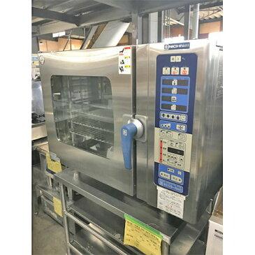 【中古】スチームコンベクションオーブン ニチワ電機 SCOS-610RHC-RMP 幅1035×奥行655×高さ1395 三相200V 【送料別途見積】【業務用】【厨房機器】