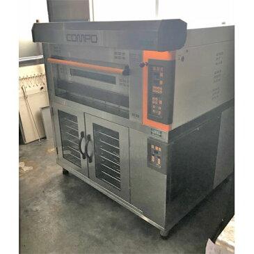 【中古】ニューコンポ オーブン 三幸機械 TKC-GH-11 幅1340×奥行1150×高さ1450 三相200V 【送料別途見積】【業務用】【厨房機器】