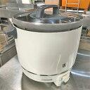 【中古】2升用ガス炊飯器 パロマ PR-403S 幅414×奥行513×高さ470 LPG(プロパンガス) 【送料無料】【業務用】