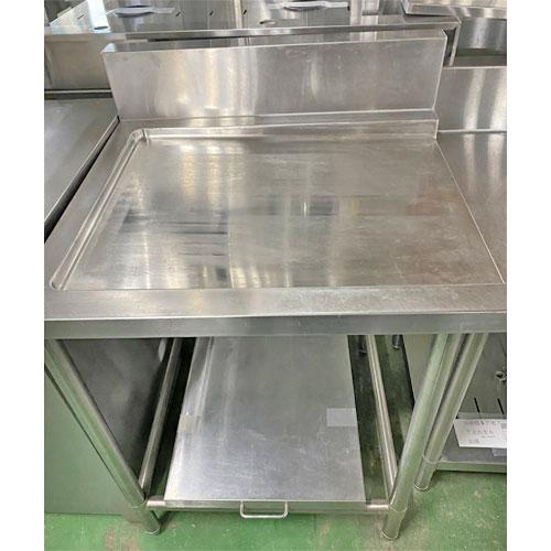 【中古】クリーンテーブル 炊飯カート付き 幅730×奥行690×高さ850 【送料別途見積】【業務用】