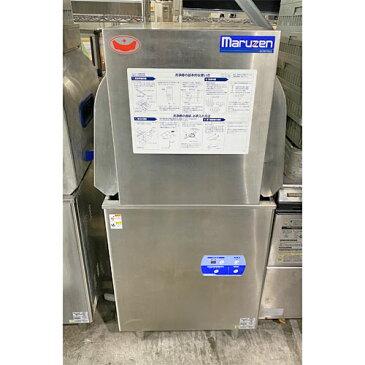 【中古】食器洗浄機 マルゼン MDWTB6E 幅600×奥行600×高さ1400 三相200V 【送料別途見積】【業務用】