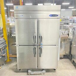 【中古】縦型冷凍冷蔵庫 ホシザキ HRF-120ZFT3 幅1200×奥行650×高さ1890 三相200V 【送料別途見積】【業務用】
