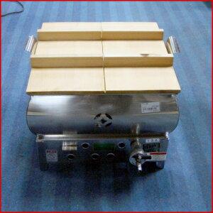 【送料別】【中古】【業務用】 ガスおでん鍋 幅380×奥行400×高さ310