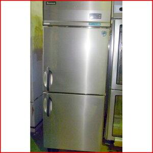 【送料別】【中古】【業務用】 縦型冷凍庫 253LSS 幅750×奥行800×高さ1905 三相200V