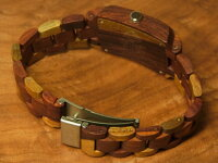 トノーIII型腕時計(インレイドサンダルウッド)