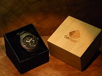 アーバンモデル木製腕時計(ダークサンダルウッド)