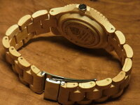 tenseアーバンモデル木製腕時計(メイプルウッド)