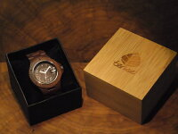 tenseアーバンモデル木製腕時計(サンダルウッド)
