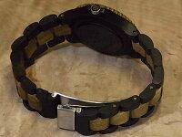 tenseアーバンモデル木製腕時計(ダークサンダルウッド&グリーンサンダルウッド)