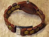 tenseアーバンモデル木製腕時計(サンダルウッド&グリーンサンダルウッド)