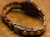 アーバンモデル木製腕時計(サンダルウッド&メイプルウッド)
