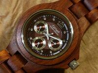 tenseエグゼクティブモデル木製腕時計(サンダルウッド)