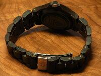 tenseラウンド型腕時計ベルト(ダークサンダルウッド)