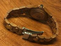 レトロモダンモデル木製腕時計ベルト(ウォルナット)