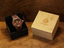 レトロモダンモデル木製腕時計
