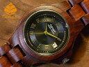 テンス【tense】レトロモダンモデル No.390 サンダルウッド使用1971年創業のカナダ木工専門技を結集し、匠が創り上げたTENSE木製腕時計(ウッドウォッ