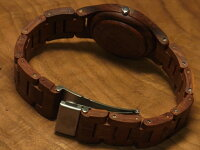 tenseラウンド型腕時計(サンダルウッド)