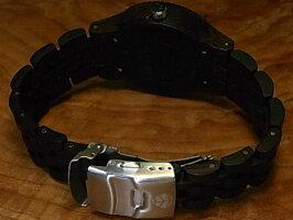 グランプレミエモデル木製腕時計(ダークサンダルウッド)