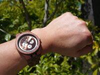 グランドゥモデル木製腕時計(ウォルナット)
