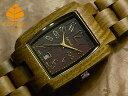 テンス【tense】トノーIモデル No.314 グリーンサンダルウッド使用1971年創業のカナダ木工専門技を結集し、匠が創り上げたTENSE木製腕時計(ウッドウォッチ)。テンス社日本総輸入元公式販売サイト。【日本総輸入元のメンテナンス保証付】