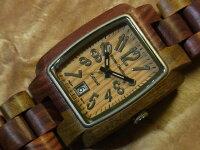 トノーI型腕時計(インレイドサンダルウッド)