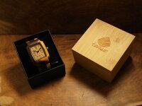 トノーI型腕時計(インレイドサンダルウッド&ダークサンダルッド)