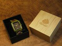 トノーI型腕時計(グリーンサンダルウッド&サンダルウッド)