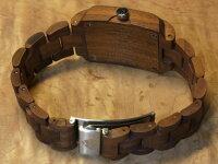 tenseトノー型モデルI木製腕時計(ウォールナット)