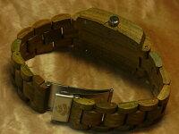 トノーIII型腕時計(グリーンサンダルウッド)