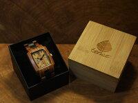 トノーIII型腕時計(サンダルウッド&ダークサンダルウッド)