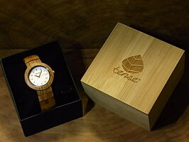 tenseラウンドブレス型腕時計(チーク)