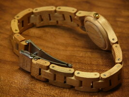 tenseラウンド型腕時計ベルト(メイプルウッド)