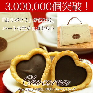 バレンタイン チョコロン・デザイナーズバッグ ホワイト チョコレート チョコタルト プチギフト