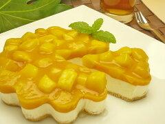 【送料無料】【あす楽対応】かわいい!カットするとハートになるバースデーケーキ♪完熟マンゴ...