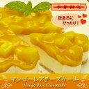 【送料無料】カットするとハートになるバースデーケーキ♪完熟マンゴーたっぷり!『マンゴーレ...