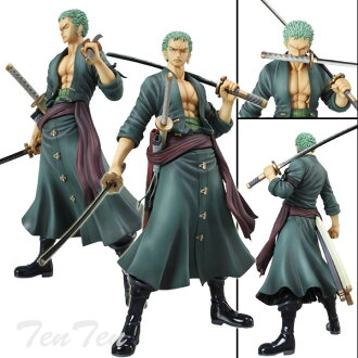 Megahouse one piece PVC figure POP roronoa Zoro new World Edition Sailing Again ONE PIECE SA? s October reserve items?
