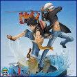 ワンピース フィギュア フィギュアーツZERO モンキー・D・ルフィ&トラファルガー・ロー -5th Anniversary Edition- 【新入荷・即納品】