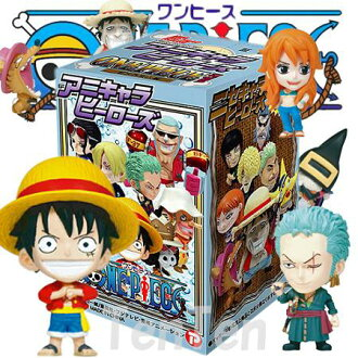 "One piece PVC figure heros vol.11 new world into chapter 20 BOX ""fate."""