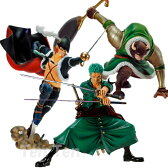 ワンピース フィギュア Scultures 造形王頂上決戦 Vol.3 5 ドレーク ドルトン ゾロ セット 【即納品】
