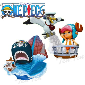 One piece PVC figure chopper desktop Theater figure Vol.4 SEA ANIMALS set 2