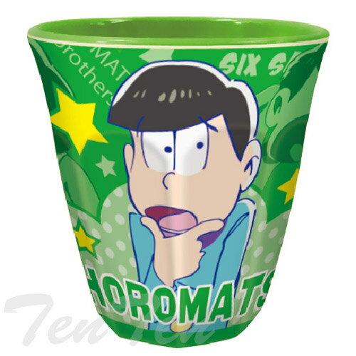 おそ松さん グッズ メラミンカップ チョロ松 【即納品】 食器 コップ 【コンビニ受取対応商品】画像