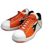 安全靴 安全スニーカー DIADORA(ディアドラ) KIWI ドンケル 樹脂先芯 JPSA B種合格品 KW-721 橙/黒 23.0~29.0cm