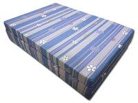 マットレス3つ折れマットレス厚み6cmコンパクト収納シングルサイズ192×91×6cm日本製色柄おまかせ