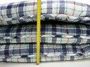 羊毛混敷き布団 敷布団 敷きふとん 羊毛布団 両面プリント セミダブル 120x210cm 日本製 色柄お任せ 3