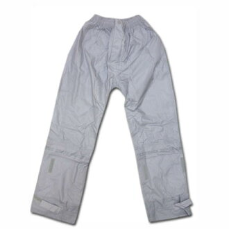 Kappa 雨衣雨褲 ☆ 交叉滯後千瓦 S 4 L 銀的褲子